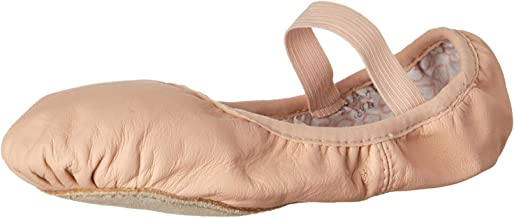 Bloch Dance Girls Dance Shoes Belle Full Sole Leather Ballet Slipper/Shoe