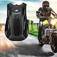 Mochila Multifuncional para Motocicleta Impermeable Cáscara Dura Mochila Moto Impermeable 30L Bolsa de portátil de Gran Capacidad para Montar para Viajar Ciclismo