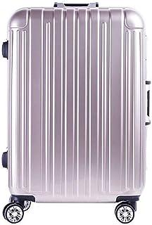 Unisex Travel Travel Suitcase Password Box Adult Trolley case Golden