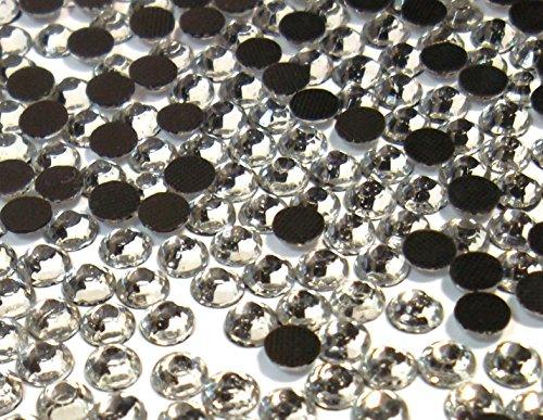 Perlin - Piedras de estrás termofijables, 14400 unidades, cristal, 2 mm SS6 AAA, cristal, para planchar, pegamento caliente, piedras brillantes de cristal 402