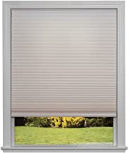 Easy Lift Trim-at-Home Cordless Cellular Light Filtering Fabric Shade Natural, 60 in x 64 in, (Fits windows 43