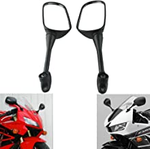 MZS Motorcycle Rear View Mirrors compatible Honda CBR250R 2011-2017/ CBR300R 2015-2018/ CBR500R 2012-2017/ CBR600RR 2003-2016/ CBR1000RR 2004-2007