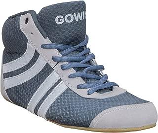 Gowin Unisex Venom Black Lime Kabaddi/Wrestling Shoes