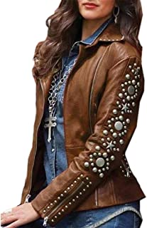 Womens Pure Color Patch Zip Long-Sleeve Slim Bomber Turn Down Collar Coat
