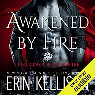 Awakened by Fire audiobook cover art