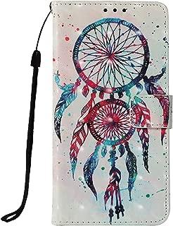 LG Aristo 2 /LG Tribute Dynasty/LG Zone 4/ LG Fortune 2/ LG K8 2018 / LG Rebel 3 LTE, Voanice PU Leather Wallet Card Slots Stand Flip Cover Wrist Strap LG K8 2018 &Stylus -Colorful Aeolian Bells