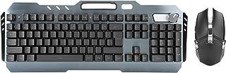 Wireless Keyboard Mouse Combo K670RGB Knob Mechanical Keyboard Mice Set, 4-Speed Adjustment DPI Resolution Anti-Conflict W...