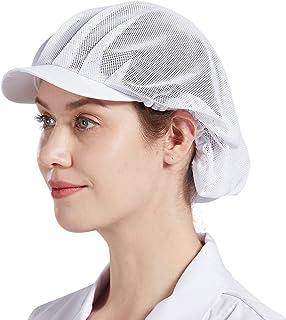Nanxson Unisex Chef Hat Adjustable Elastic Baker Chef Cap Kitchen Cooking Food Service Net Hat CF9046
