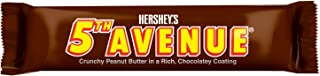 HERSHEY'S 5th Avenue Halloween Candy, Chocolate Peanut Butter Bar (Pack of 18)