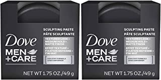 Dove Men+Care Hair Styling, Sculpting Paste, 1.75 oz, 2 Packs