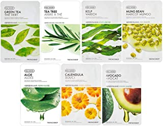 The Face Shop Unisex Weekly Acne Treatment Masksheet Combo (Pack Of 7), 140 g