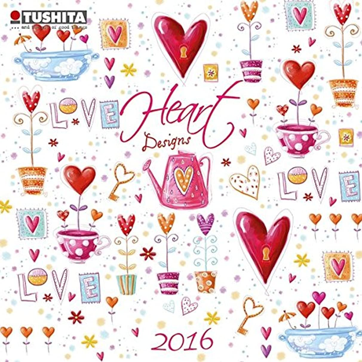 船尾免疫佐賀Heart Design 2016 (Mini Calendars)