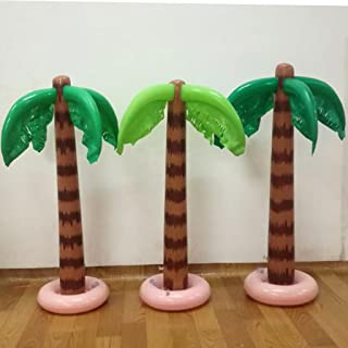 guangzhou 90Cm Inflable Tropical Palm Tree Pool Beach Party Decoración Juguete Suministros al Aire Libre Inflable Agua Spray Entrega aleatoria
