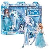 Juinsa- Muñeca princesa y caballo (96196.0) , color/modelo surtido