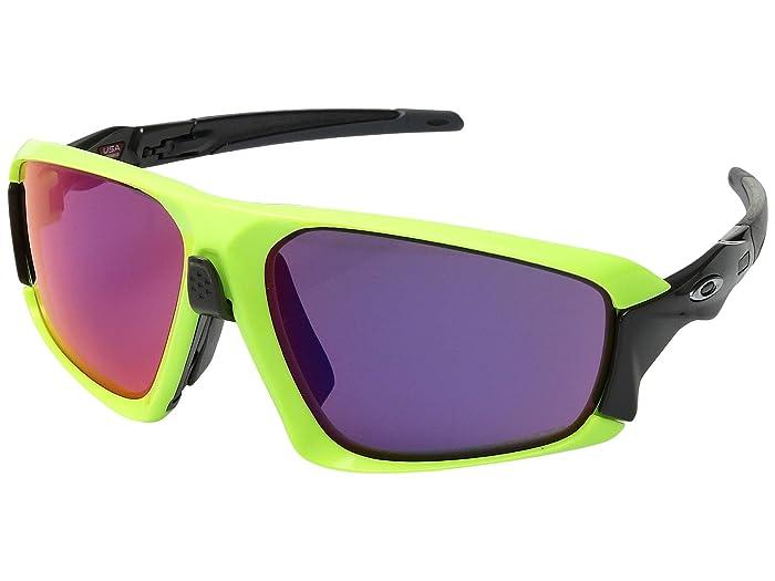 Oakley Field Jacket (Retina Burn/Carbon w/ Prizm Road) Sport Sunglasses
