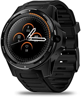 TIANYOU Fitness Tracker Thor 5-Bis-Chip Dual System Smart Watch Pulsera 800 Millones Píxeles Long Standby 2 + 16G Sport Fitness Tracker Exquisito/F