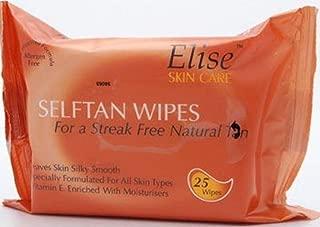 elise self tan wipes