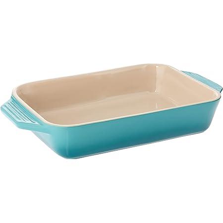 "Le Creuset Stoneware Rectangular Dish, 1.8 qt. (10.5"" x 7""), Caribbean"