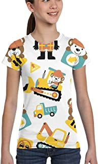 Girl T-Shirt Tee Youth Fashion Tops Wind Musical Instruments