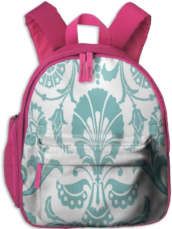 European Grass Pattern Lovely Kids Backpack Economical Kindergarten Bookbag Durable School Travel Bag B07Q2PX7SJ  Vitalität
