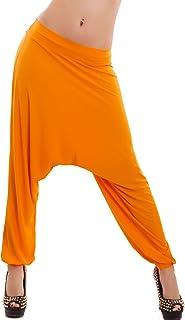 f0b3c884505fd4 Toocool - Pantaloni Donna Harem Turca Sarouel Cavallo Basso Danza Yoga  Ballo Nuovi CC-8177