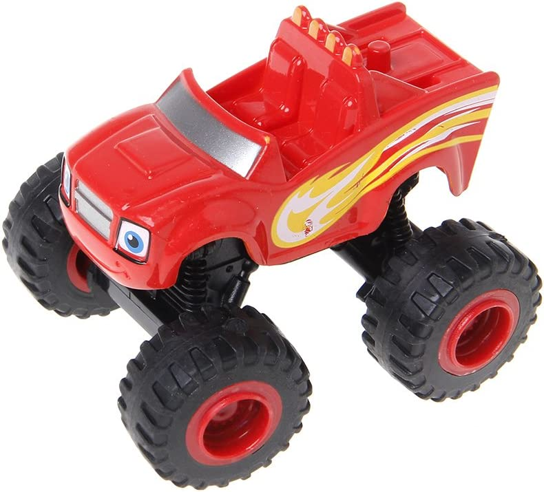 JAGETRADE Blaze Machines Vehicle Toy Racer Cars Truck Transformation Toys Gifts for Kids
