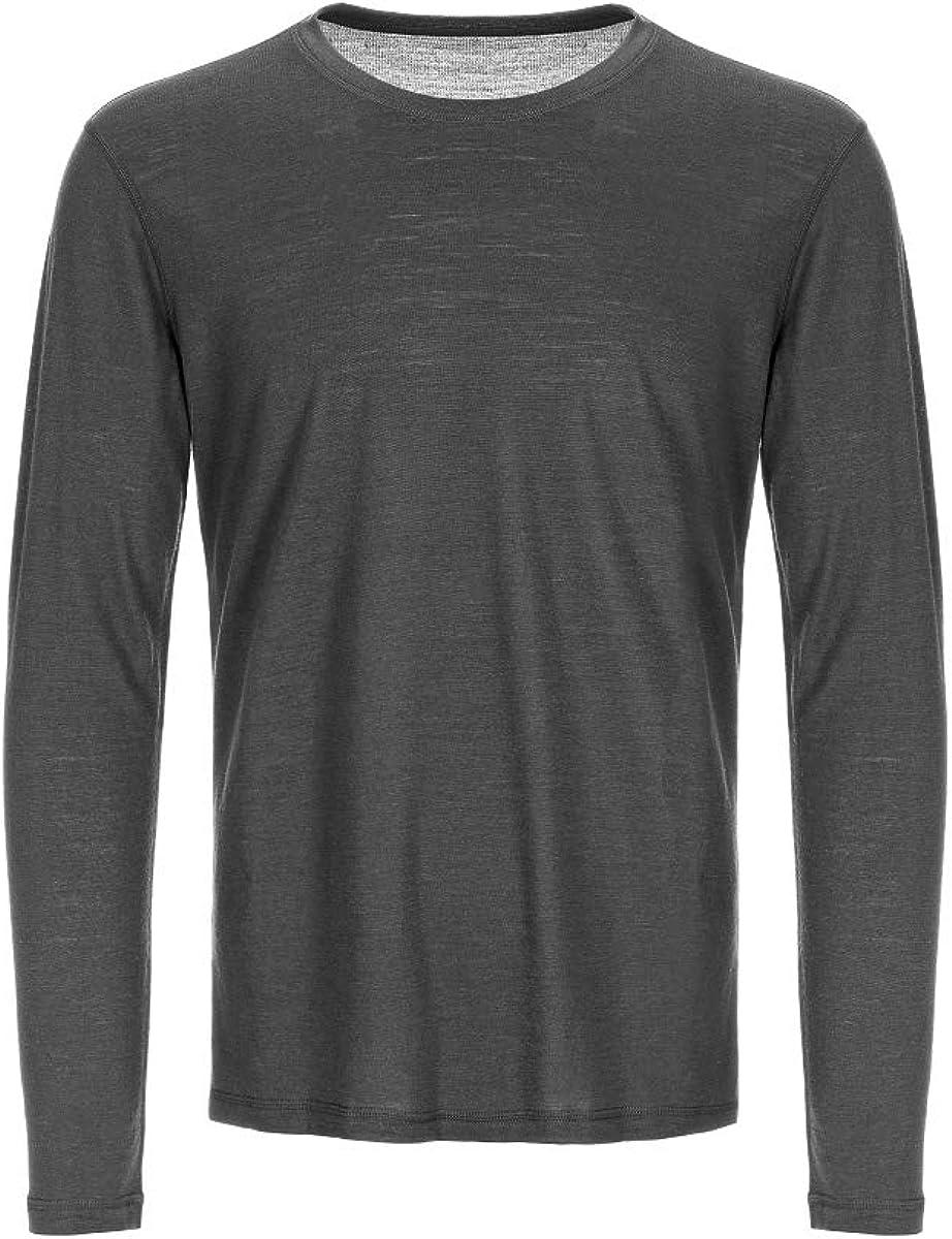 Hombre super.natural M Base 140 Camiseta de Lana Merino