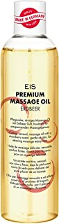 EIS, Aceite de masaje fresa prémium, Dulce aroma y masajes