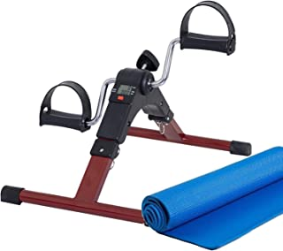 Lifelong LLF63 Fit Pro Foot Pedal Exerciser Machine, Foldable Portable Foot, Hand, Arm, Leg Exercise Pedaling Machine - Fo...