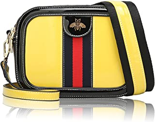 Beatfull Genuine Leather Bee Crossbody for Women Designer Shoulder Bag Bumble Bee Purse