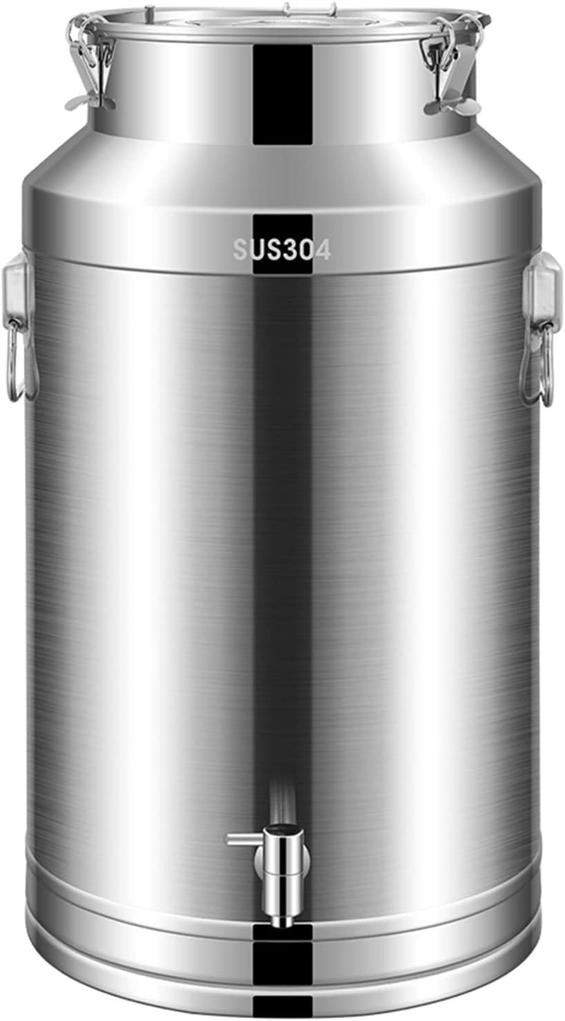 New Shipping Free Shipping 304 Stainless Steel Omaha Mall Airtight Canister and Wine for Milk Liquid