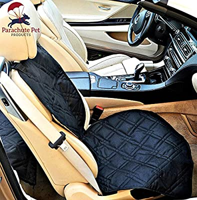 """Non-Slip Backing Bucket Car Seat Protector. Machine Washable With A Lifelong Promise. 46""""L x 24""""W. Available In Black, Blue & Khaki"""