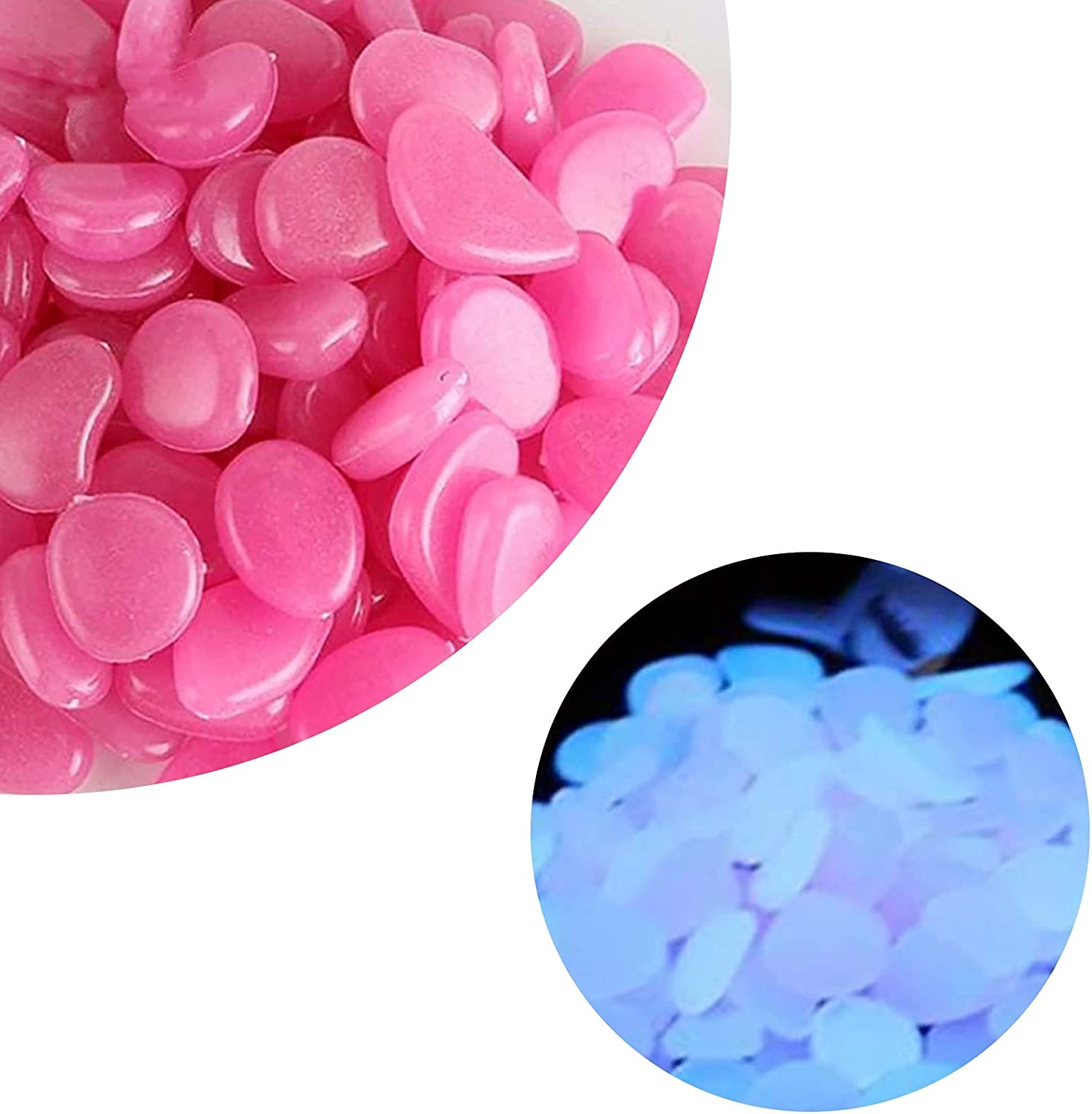LLONG Glow in The Dark Sales for sale Rocks a by 2021 model Pebbles Light Glowing Powered