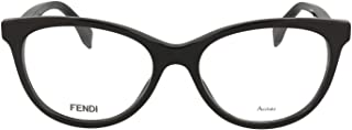 Luxury Fashion | Fendi Womens FF020180717 Black Glasses | Season Permanent