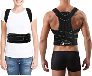 Sponsored Ad - Copper Compression Full Posture Corrector with Support Bars for Men and Women. Guaranteed Highest Copper Ad...