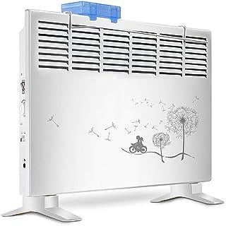 GYF Calefactor eléctrico 2000W Convectores Casa El Ahorro De Energía De Pie Calentador con Caja De Humidificación La Calefacción No Es Seca. Blanco