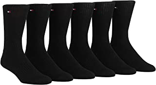 Men's 6 Pair Sport Cushion Crew Socks