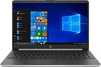 HP 15.6 Inch Touch Screen Laptop 256GB SSD + 16GB Intel Optane ( 8th Gen i5-8265U, 12GB RAM, UHD 620 Graphics) Natural Silver ,15-DY0013DX