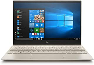 HP Envy 13-ah0000ne Laptop, Intel Core i5-8250U, 13 Inch, 256 GB SSD, 8GB RAM, Win 10, Eng-Ara KB, Gold