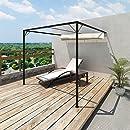 Alices Garden - Pergola, Aluminio, Gris, 3x3 m: Amazon.es: Jardín