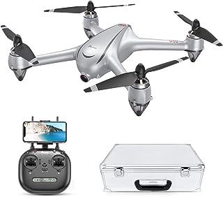 Potensic RC Drone GPS sin Escobillas con 2K Cámara Full HD FPV Quadcopter 5G WiFi con Sígueme Plantear Ruta 110º Gran Angular Rotación por Punto de Interés Altitude Hold Retorno a Casa D80