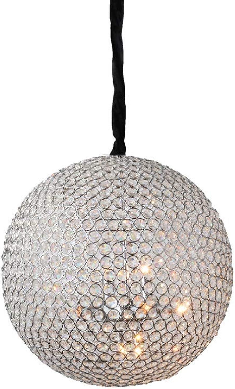 Ronde cm 15 E14 Moderne pendentif allée luminaire cristal en