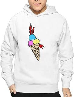 Men Gucci Mane Ice Cream Tattoo Hoodies Sweatshirts Cool Hoodies Funny