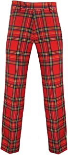 Scottish Golf Trousers n Royal Stewart Red Tartan - 31