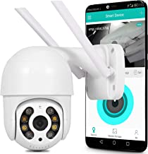 Camera Ip Wifi Dome Rastreamento humano Auto Track Switch Visão Noturna Alerta Celular A prova d'água