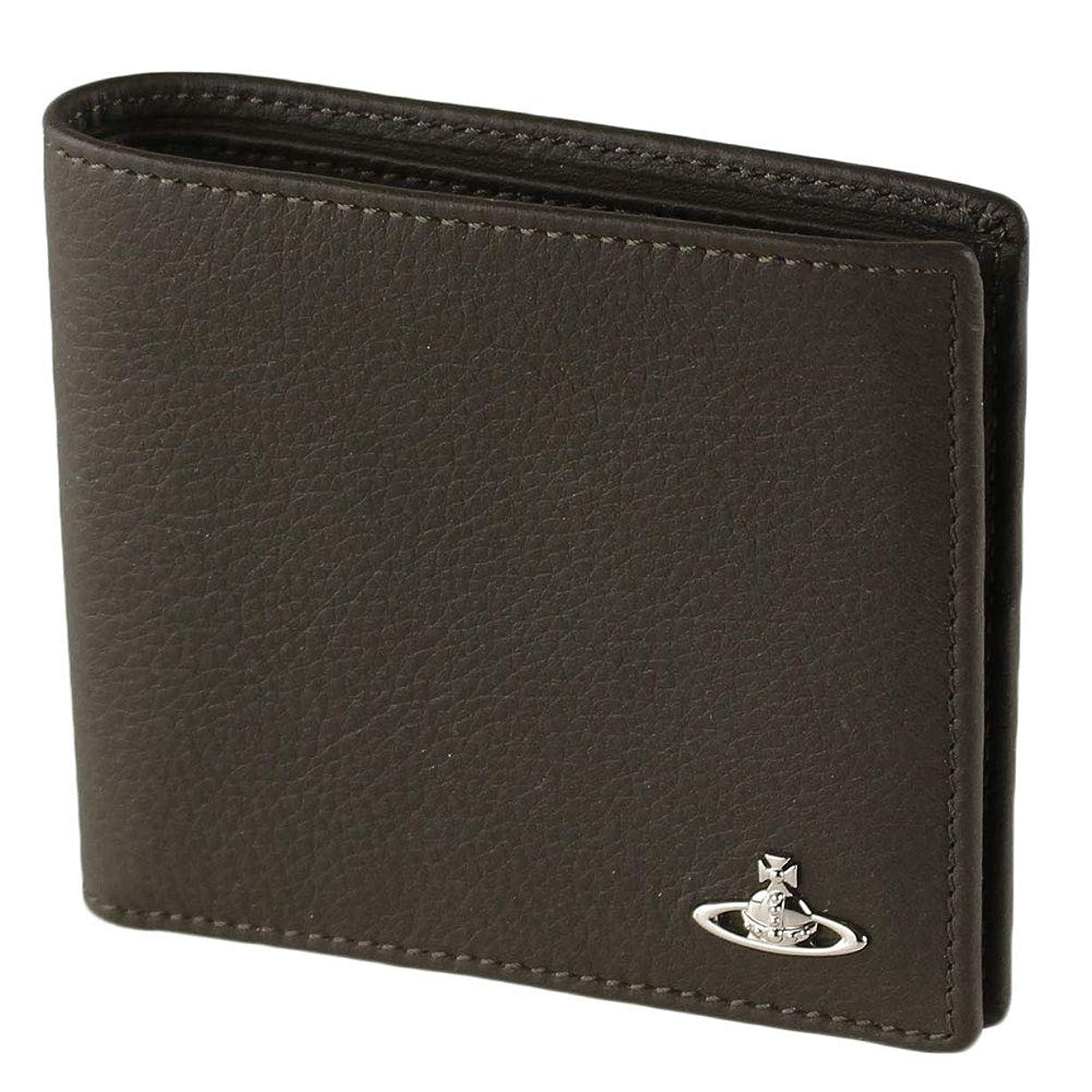 不完全な男性アンカーヴィヴィアン VIVIENNE WESTWOOD メンズ 折りたたみ財布 51110025-40739 MAN CREDIT CARD HOLDER [並行輸入品]