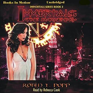 The Darkening audiobook cover art