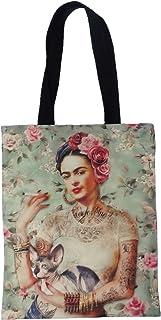 Para Frida Kahlo tote bag,Bolso tote de lona, bolsa de compras, bolso reutilizable, bolsas de compras de algodón ecológica...