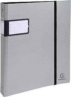Exacompta - Ref. 51662E - Classeur Campus Metal - 4 Anneaux 30mm - Dos de 4 cm - 32X26,8cm pour Format A4 Maxi - Couvertur...