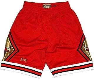 Mitchell   Ness Chicago Bulls NBA Men s 1997-98 Chinese New Year CNY Red  Swingman be163c395d1e